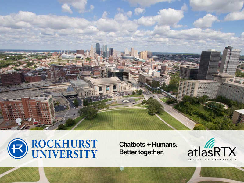 Rockhurst University Partners with Utah-based Conversational AI SaaS Company to Provide Advanced Web-Chatbot